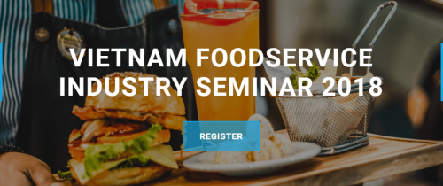 Co-Hosted Event: Vietnam Food Service Industry Seminar 2018