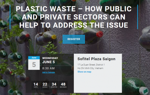 Co-hosted Event: Plastic Waste – How Public And Private Sectors Can Help To Address The Issue