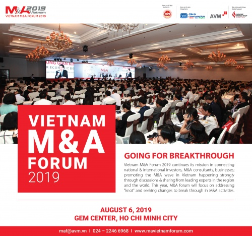 Co-hosted Event: M&A Forum 2019
