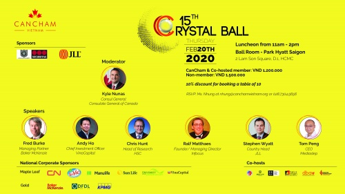 CO-HOSTED EVENT: 15TH ANNUAL CRYSTAL BALL