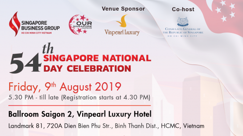 54TH SINGAPORE NATIONAL DAY CELEBRATION - OUR SINGAPORE