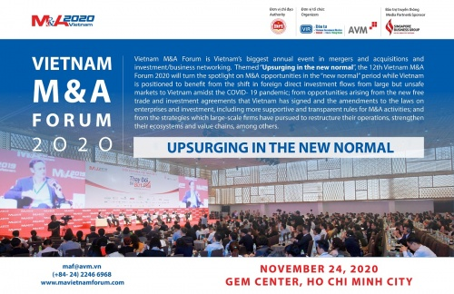 MEDIA PARTNER - VIETNAM M&A FORUM 2020