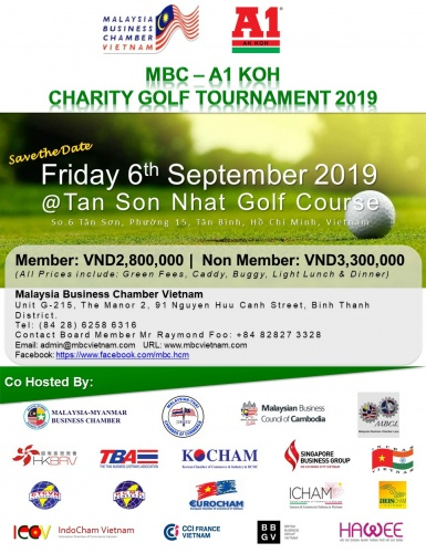 Co-hosted Event: MBC - A1 KOH Charity Golf Tournament