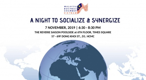 CO-HOSTED EVENT: A NIGHT TO SOCIALIZE & SYNERGIZE