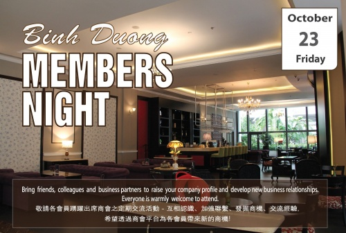CO-HOST EVENT [HKBAV] BINH DUONG MEMBERS NIGHT