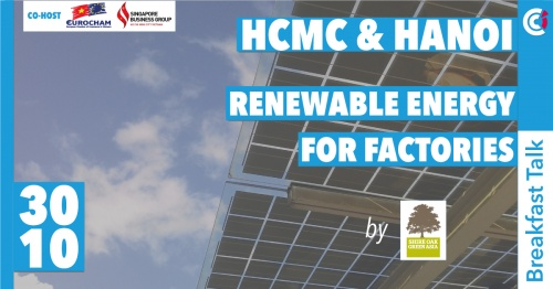 CO-HOSTED EVENT: BREAKFAST TALK: RENEWABLE ENERGY FOR FACTORIES