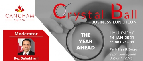 CO-HOST EVENT: CANCHAM'S CRYSTAL BALL BUSINESS LUNCHEON: 2021 - THE YEAR AHEAD